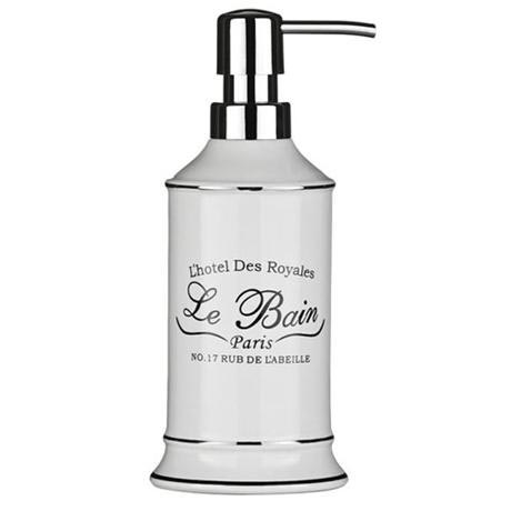 Le Bain White Ceramic Lotion Dispenser - 1601335