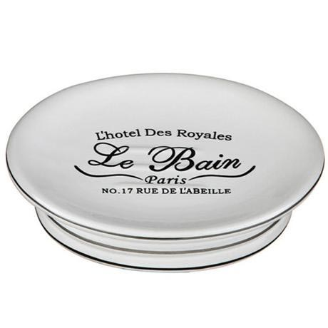 Le Bain White Ceramic Soap Dish - 1601338