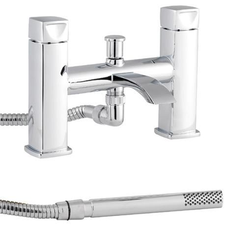 Premier - Series A Bath Shower Mixer with Shower Kit - Chrome - ATY334
