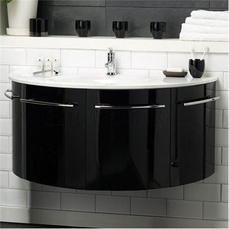 Hudson Reed Moon Basin And Cabinet Victorian