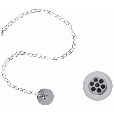 Burlington Basin Plug and Chain (slotted) - W1