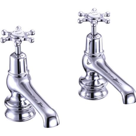 "Burlington Birkenhead Regent - Chrome 5"" Basin Taps - BIR2"