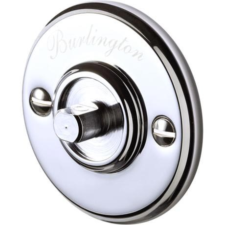 Burlington Chrome Accessory Back Plate- G13