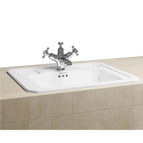 Burlington Classic 54cm Inset Basin - B13