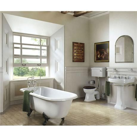 Burlington Edwardian Regal 5 Piece Bathroom Suite