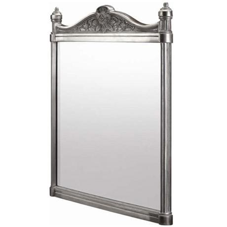 Burlington Georgian Mirror with Aluminium Frame - T37ALU