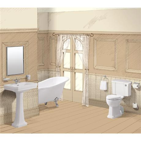 Burlington Traditional Regal 5 Piece Bathroom Suite