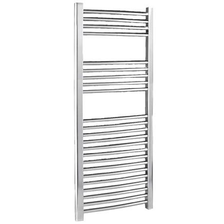 Chrome Curved Ladder Heated Towel Rail 500 x 1100mm - MTY067