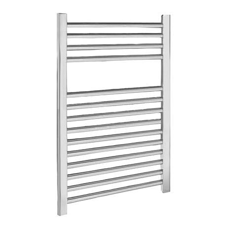 Chrome Straight Ladder Heated Towel Rail 500 x 700mm - MTY064