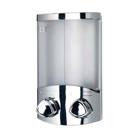 Croydex Euro Soap Dispenser Duo - Chrome - A660941