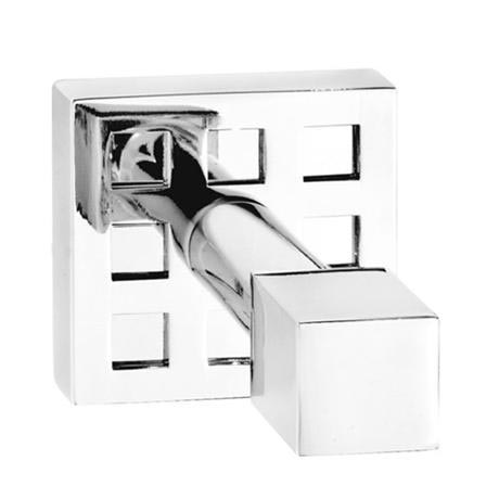 Croydex perivale single robe hook chrome at victorian for Chatsworth bathroom faucet parts