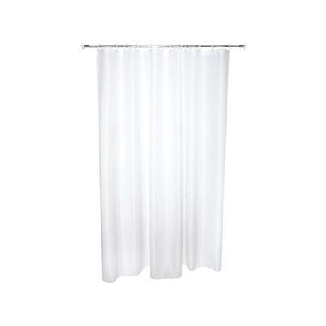 Croydex Telescopic Shower Cubicle Rod Curtain Rings Set
