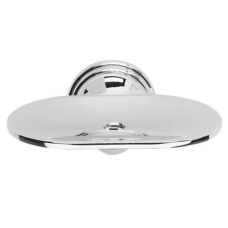 Croydex - Westminster Soap Dish - Chrome - QM201941
