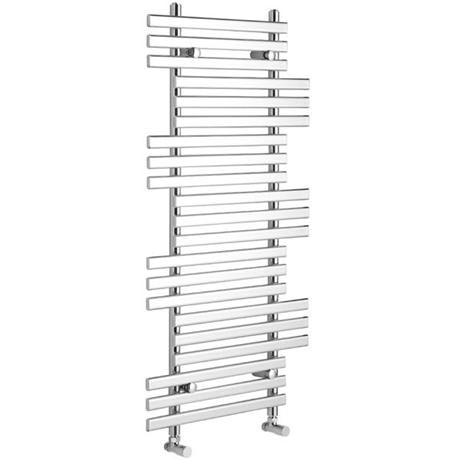 Danbury Designer Radiator Chrome At Victorian Plumbing Uk