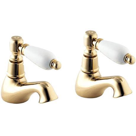 Deva Georgian Bath Taps - Gold