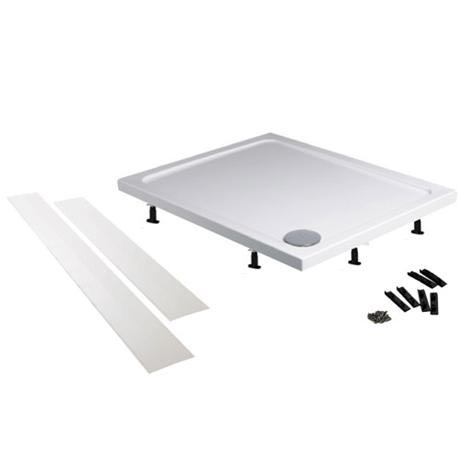 Easy Plumb Shower Tray Panel and Leg Set (1000 Panel x 2) - LEGA