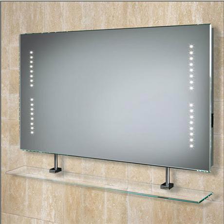 HIB - Aztec LED Mirror with Shaving Socket - 73105300