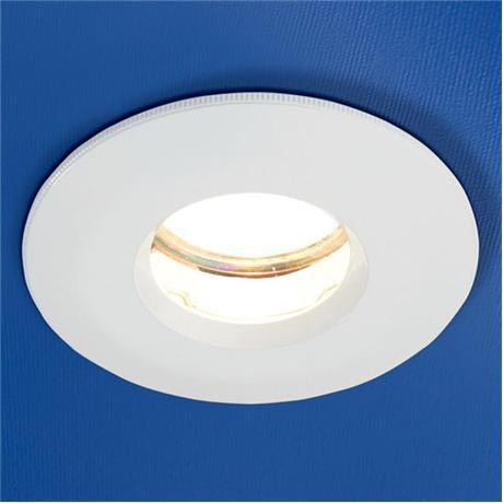 HIB - Fire Rated Showerlight - White - 5640