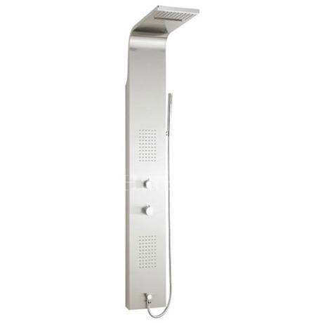 Hudson Reed - Lava Thermostatic Shower Panel - Stainless Steel - AS315