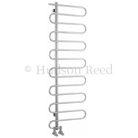 Hudson Reed Finesse Designer Radiator - Stainless Steel - HL393