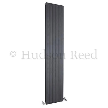 Hudson Reed Sloane Double Panel Designer Radiator 1800 x 354mm - Anthracite - HLA74