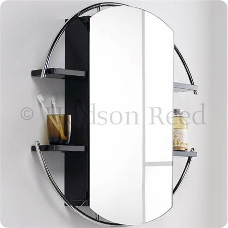 Hudson Reed Sphere Mirror Cabinet