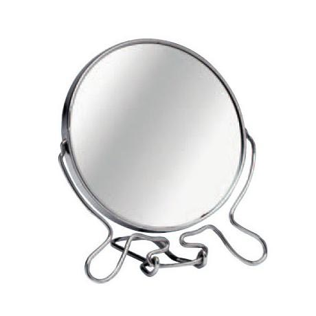 Large Chrome Shaving Mirror with Stand - 0509257