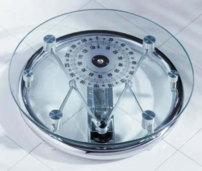 Round Glass Bathroom Scale At Victorian Plumbing Uk