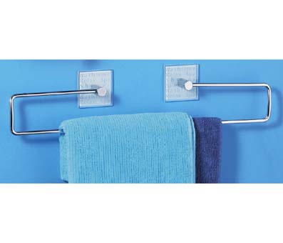 Towel Rack Frosted Glass Bathtime - 1600751 profile large image view 1