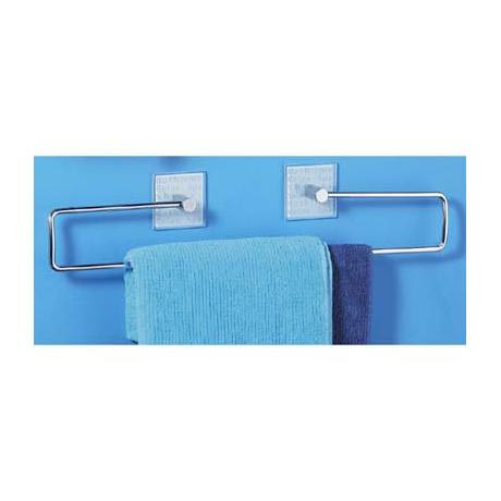 Towel Rack Frosted Glass Bathtime - 1600751