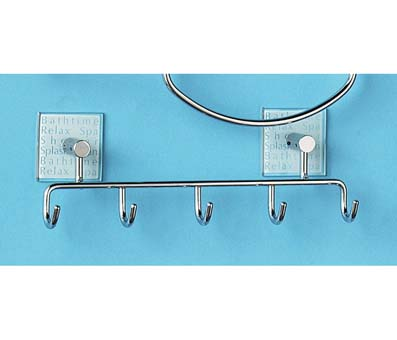 5-Hook wire Bathtime Hooks - 1600754 Large Image