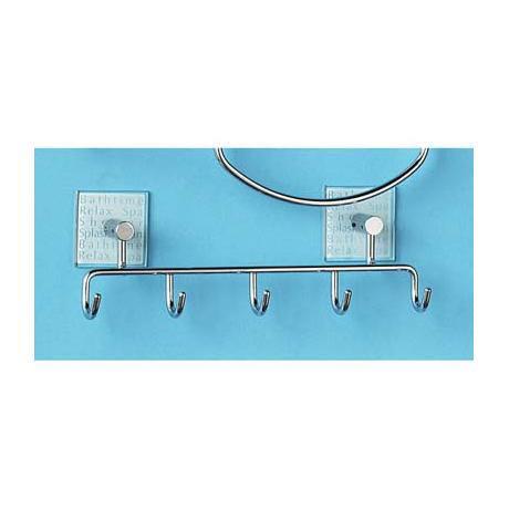 5-Hook wire Bathtime Hooks - 1600754