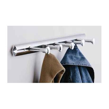5 Hook Chrome Wall Hanger - 1600969