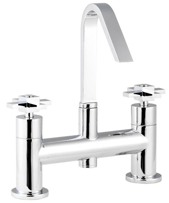 Minimalist Mantra Swivel Spout Bath Filler - MIN313-MAN399 Large Image