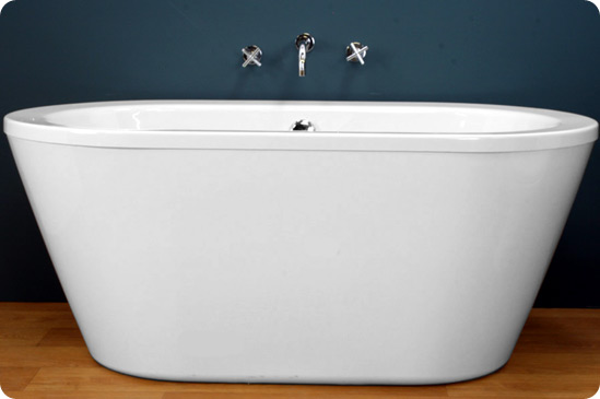 1500 Contemporary Freestanding Bath at Victorian Plumbing UK