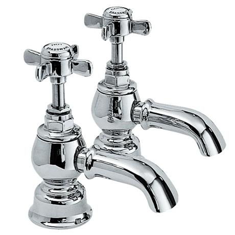 Ultra Luxury Beaumont Bath Taps - Chrome - I322X