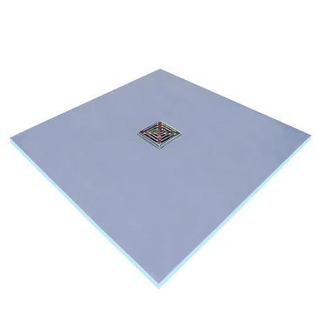 Marmox Wet Room Floor Tray - Centre Drain