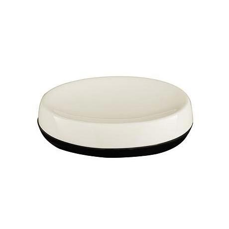 Natural Black Dolomite Soap Dish - 1601316