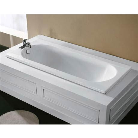 Radius 1700 x 750 Bath with Support Frame at Victorian Plumbing UK