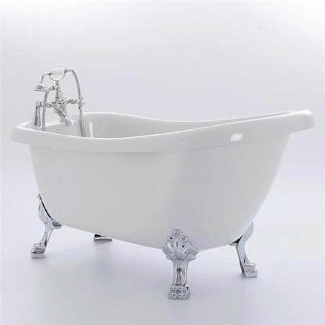 Royce Morgan Crystal 1680 Luxury Freestanding Bath with Waste