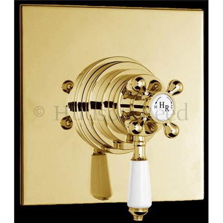 Hudson Reed Traditional Dual Concealed Thermostatic Shower Valve ...