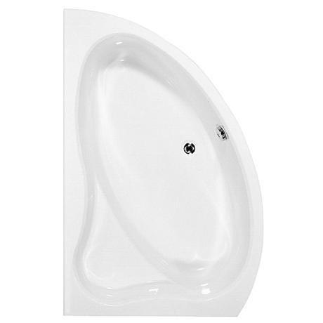Trojan Pisces 1500 x 900 Slimline Corner Bath with Seat & Acrylic Panel - Left hand option