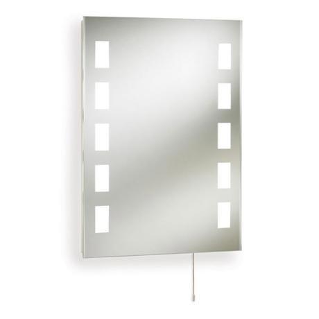 Ultra argenta 800 x 600mm backlit bathroom mirror lq385 for Mirror 800 x 600