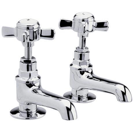 Traditional Bath Taps - Chrome - IJ322