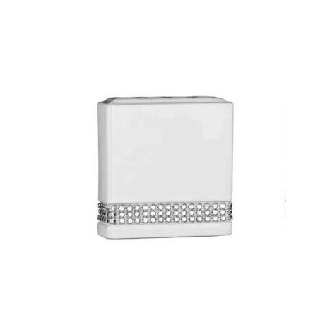 White Radiance Ceramic Toothbrush Holder - 1601345