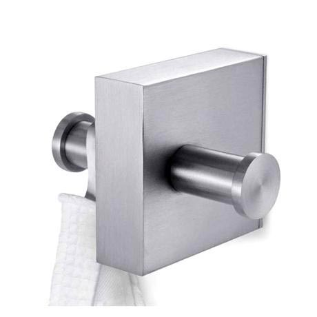 Zack Fresco Double Towel Hook - Stainless Steel - 40158