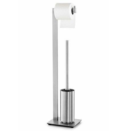 Zack Linea Toilet Butler - Stainless Steel - 40382