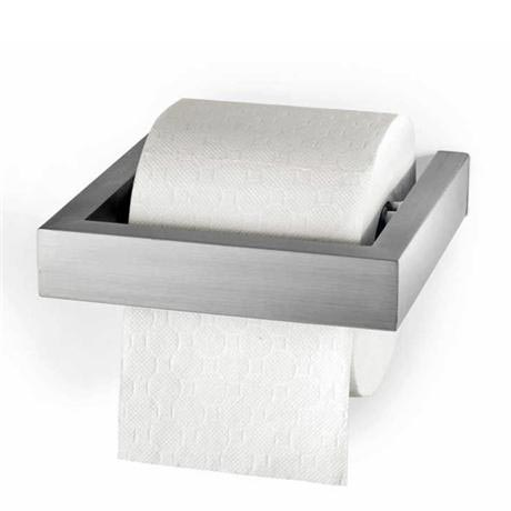 Zack Linea Wall Mounted Toilet Roll Holder - Stainless Steel - 40386