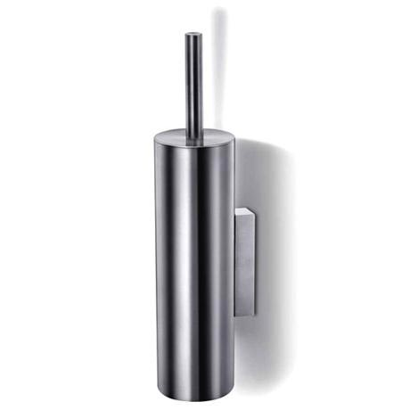 Zack Tubo Wall Mounted Toilet Brush - Stainless Steel - 40244