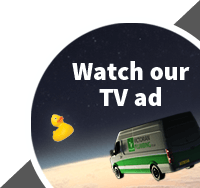 Watch TV add banner